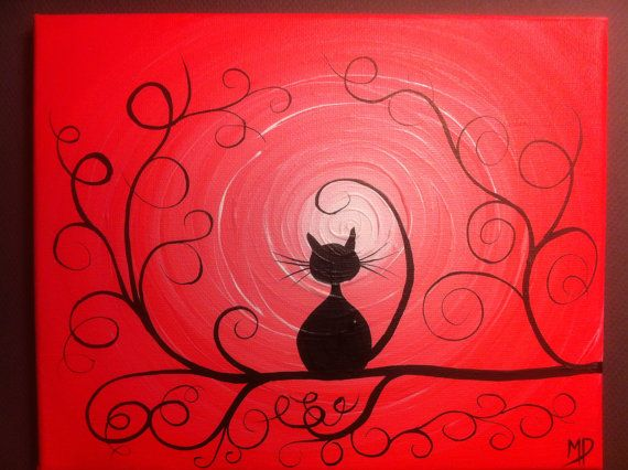 Original Whimsical Acrylic Painting What Can I by MichaelHProsper, $30.00
