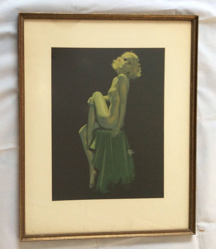 A personal favorite from my Etsy shop https://www.etsy.com/listing/573817548/rare-earl-moran-1930s-litho-print