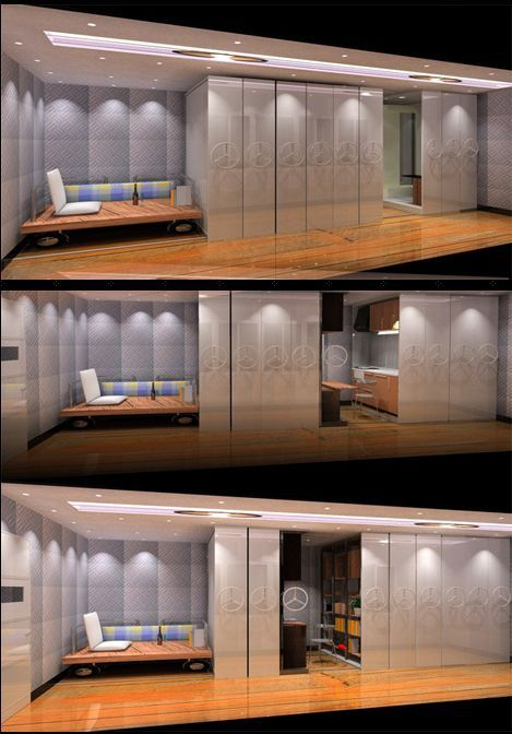 49 best moveable walls images on pinterest room dividers House with movable walls