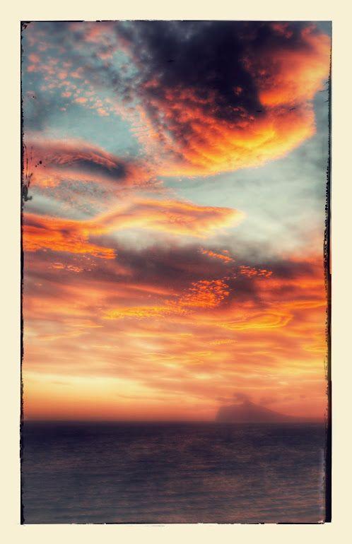 wolkenlucht boven Calpe