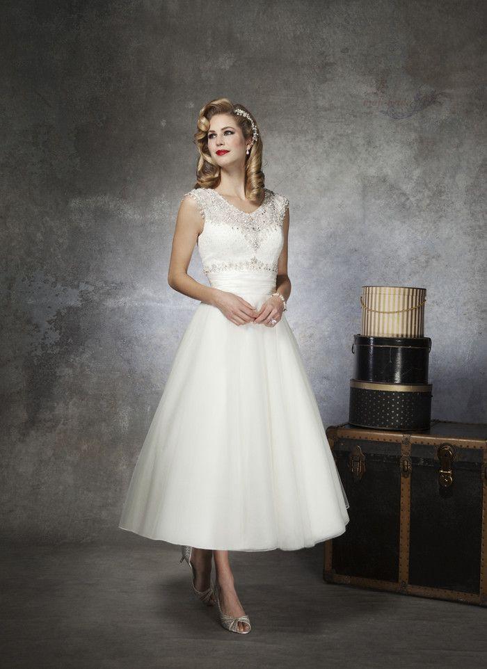 Nouveau scoop cou longueur cheville perles vintage en dentelle robe de mariée robe de mariée sur mesure 1950s taille 4 6 8 10 12 14 16 18 20 22++