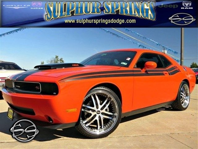 2010 Dodge Challenger RT! Muscle! Low Miles! Leather! Call~~ 903-885-2600!