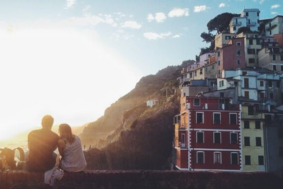 Cinque Terre.  Riomaggiore, Italy