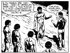 """L'Amazzoniae i suoi abitanti sono minacciati dall'avanzare degli uomini """"civili"""": costruttori di dighe e di autostrade, cercatori d'oro e di diamanti, allevatori e mercanti di legname che mettono a repentaglio il fragile ecosistema amazzonico per avidità di denaro. Lo scontro fra civiltà e natura è il tema principale di questo """"western moderno"""".  Mister No spesso si trova a difendere la natura e gli indios, ma non è un ecologista per principio: lui capisce le ragioni che spingono un Paese…"""