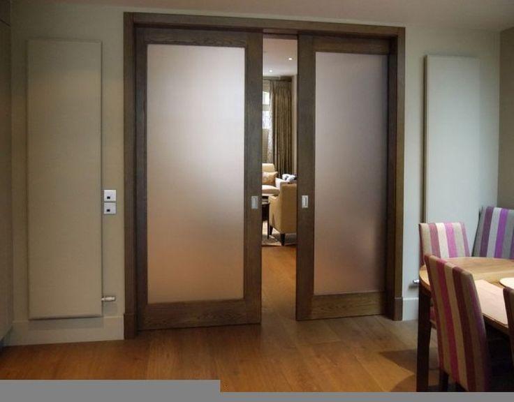 Modern Glass Pocket Doors  Home depot interior doors, Door design interior, Glass pocket doors
