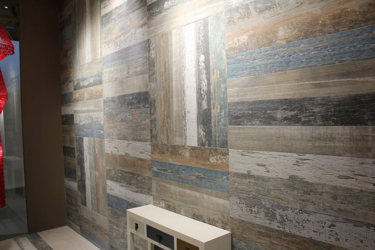 Nordland by Mapisa (random layouts of the painted faux wood tiles)