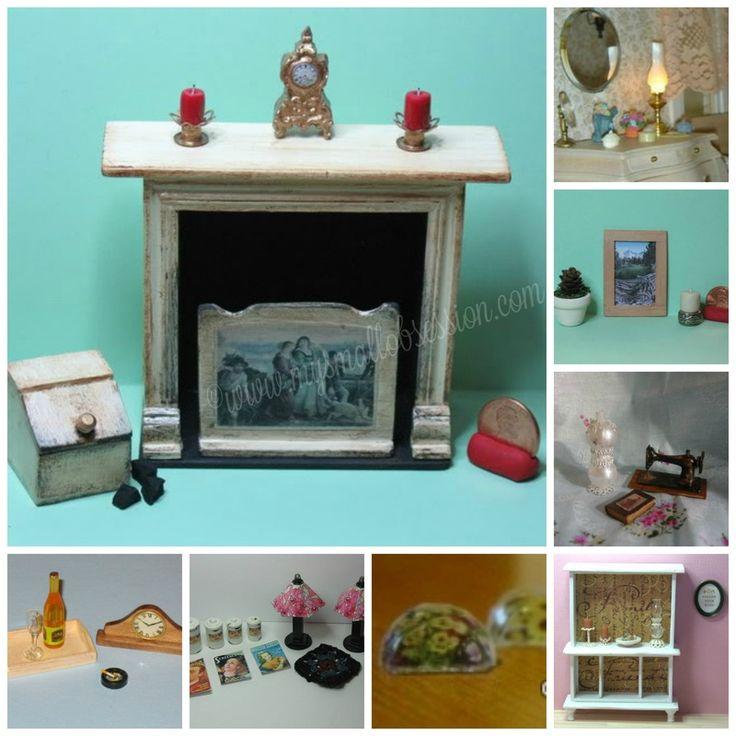 Dollhouse Accessories Tutorials