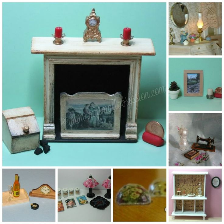 Dollhouse Miniatures Tutorials: 17 Best Images About Miniature Dollhouse Accessories