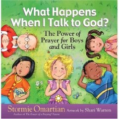 I love Stormie Omartian's books Power of a Praying Wife, Parent, etc.  I ordered this book for the boys and was excited when it showed up last week.  It did not disappoint!  I LOVE THIS BOOK!  It is great with super-cute illustrations.  I definitely recommend this.