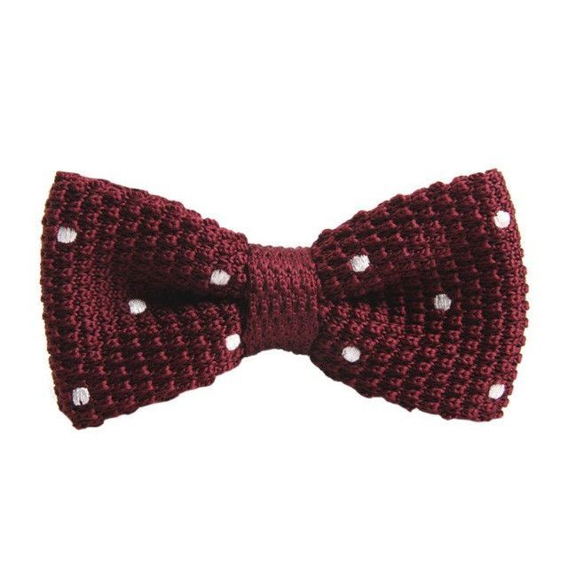 Custom Knitted Bow Tie