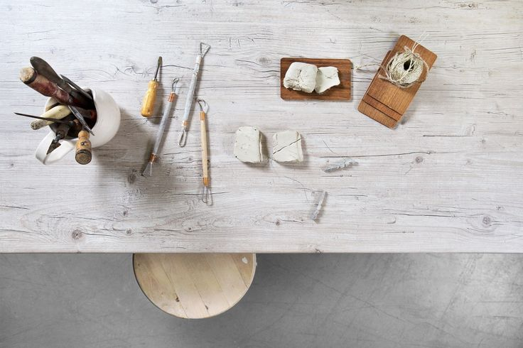 Lundbergs bänkskiva Drivved i laminat. Passar utmärkt som köksbänk, arbetsbänk eller skrivbord