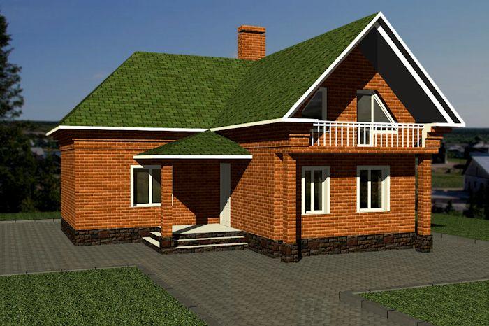 оригинальный рецепт фото проекты угловых домов с мансардой работ