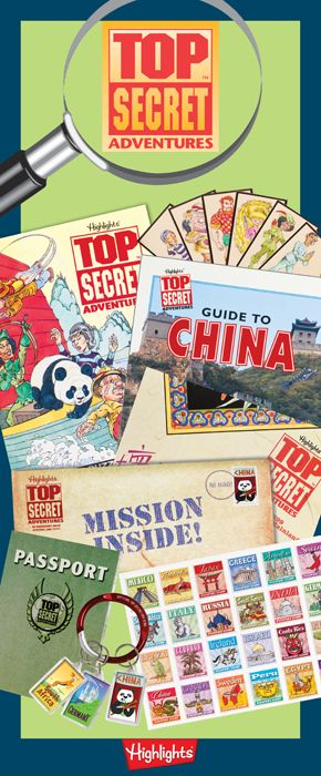 Kids can travel the world, capture a villain, solve a mystery—and still be home…