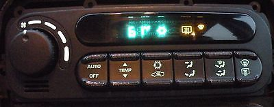 nice CHRYSLER 300M HEAT HEATER AC AIR AIRCONDITIONER CLIMATE TEMP CONTROL SWITCH 2004 - For Sale