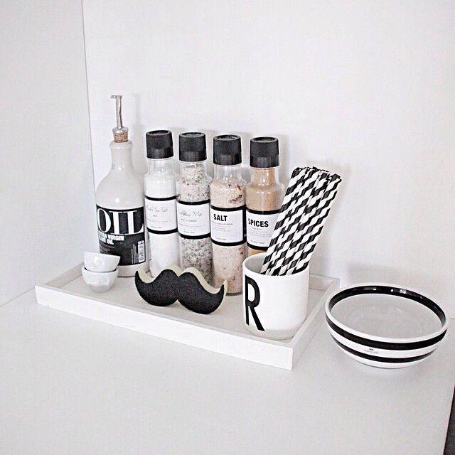 Nice combination! Repost from @fregnate #flyingtiger #tigerstores #mustache #sponge #alphabet #mug #straw #nordichome #homedeco #kitchen