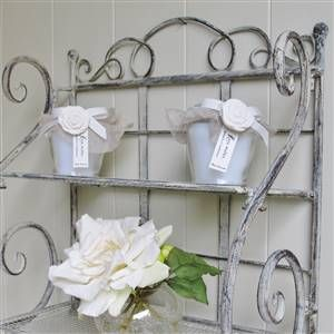 Scrolled Double Shelf | Bliss and Bloom Ltd