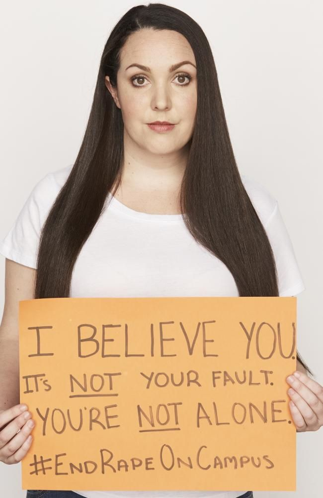 Nina Funnell is a survivor of sexual assault and was the mastermind behind this campaign.