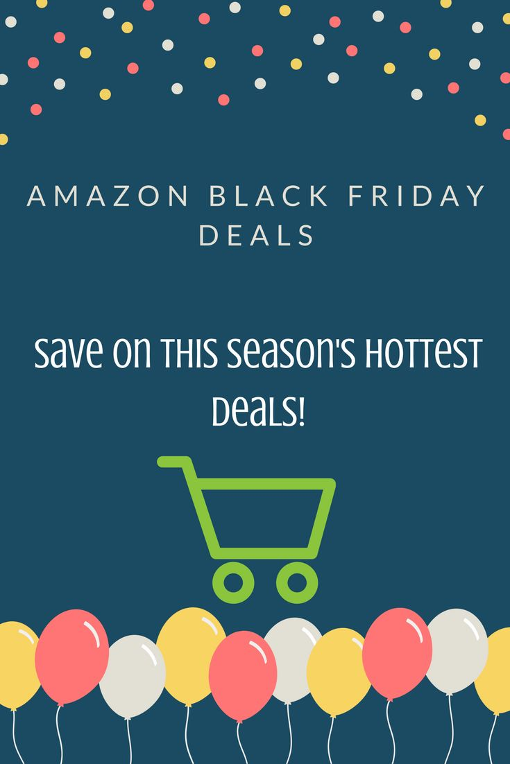 It's Black Friday deals week! #save #christmas #gift #present #blackfriday #amazon