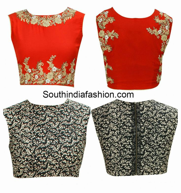 closed neck blouse designs