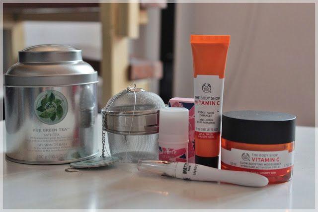 Aflati care sunt noutatile The Body Shop de pe blog.