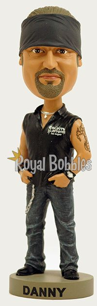 "Danny ""The Count"" Koker from the History Channel's hit show ""Counting Cars."" #Bobblehead #RoyalBobbles"