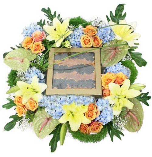 indonesia Flowers - Cakes & Flowers: Lapis Legit