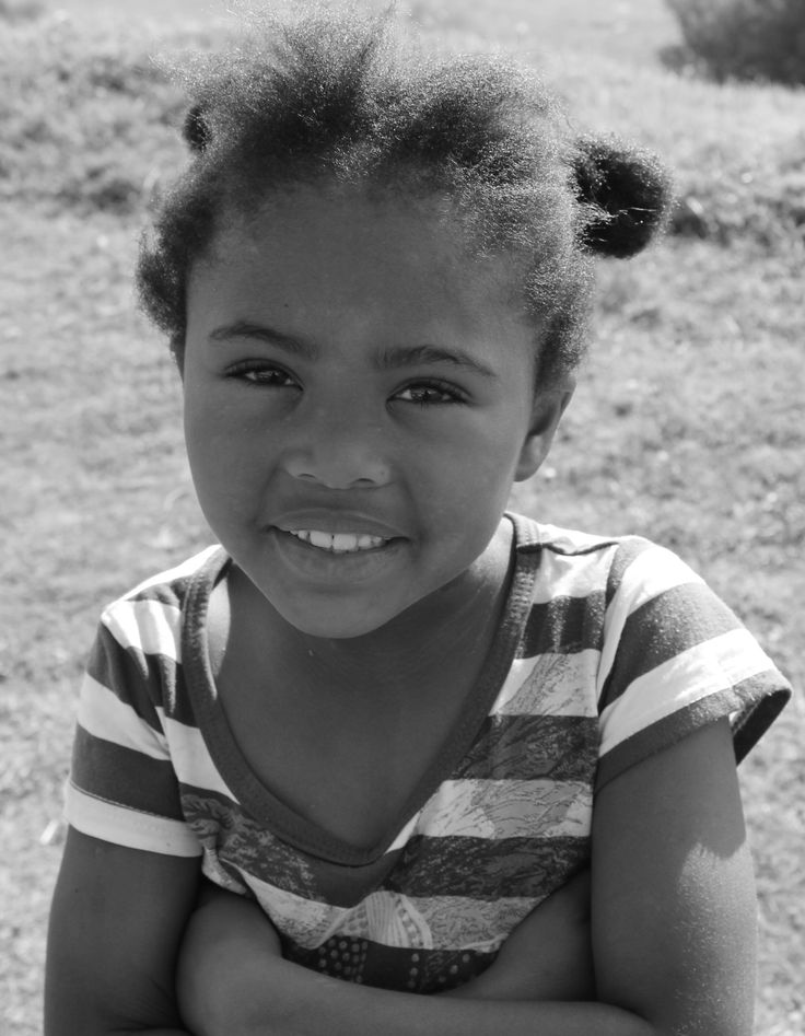 South Africa - Port Elizabeth - Bloemendal - Township - lovely child