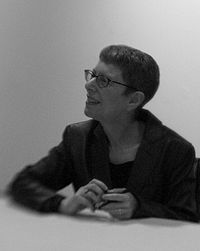 "Terry Gross, ""Fresh Air"", NPR. I've added so many books to my to-read list because of this woman."