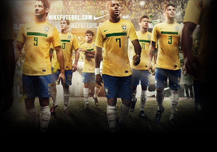 Brazil football team play in Rio...