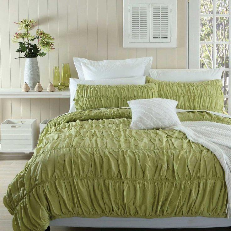 Viola Green Quilt Cover Set