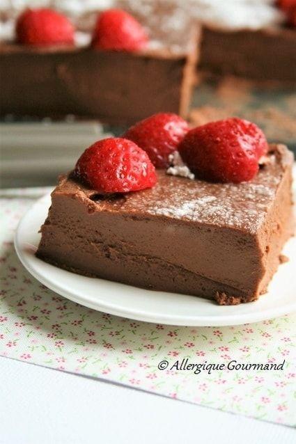 Gâteau de patates douces au chocolat, sans oeufs, sans gluten