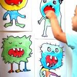 Monsters – toothless, scary and fun to make