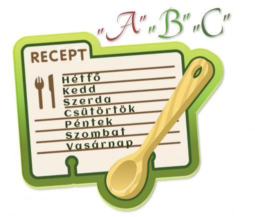 """2017.07.03. Első heti - Olcsó """"A"""" """"B"""" """"C"""" menük képes receptekkel Egy havi menüt állítok össze egy 4 tagú családnak, napi egyszeri főétkezéssel. A leírás alatt a képes recepteket is elérhetővé teszem, hogy ne kelljen keresgélni. A receptjeim nagy része lépésről-lépésre a kezdő háziasszonyok szempontjából hasznosak lehetnek."""