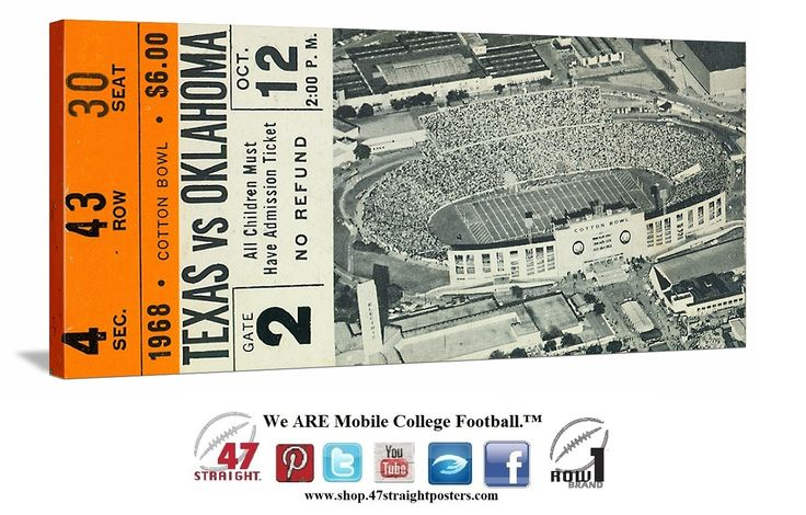 OU vs. Texas football tickets. OU-TX tickets. 68.jpg 1,284×820 pixels