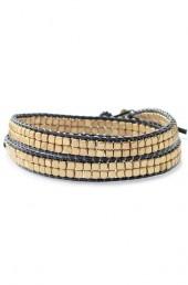 Nugget Wrap Bracelet--Gold