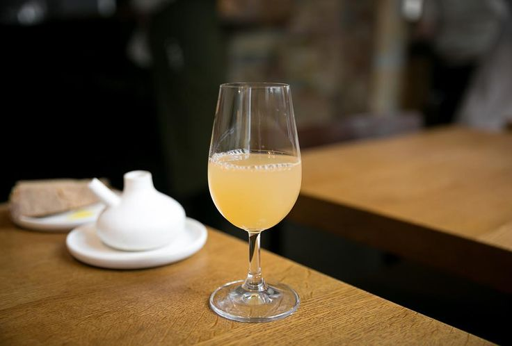 Juice: Apple and horseradish at Relæ Copenhagen by cityfoodsters