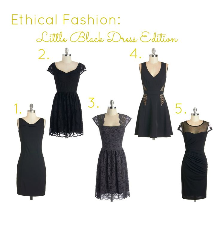 Ethical Fashion: Little Black Dress Edition on the blog - http://bit.ly/1thGqis. Some of these dresses are now 30% off, check it out here: bit.ly/10ivwx7