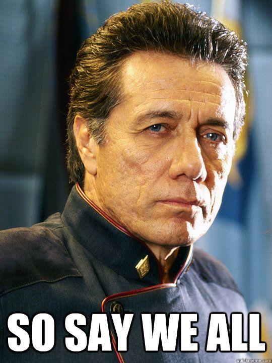 Battlestar Galactica Commander William Adama