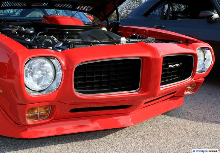 1971 Pontiac Firebird Trans Am. As shown at the November 2016 Cars and Coffee event in Austin TX USA.