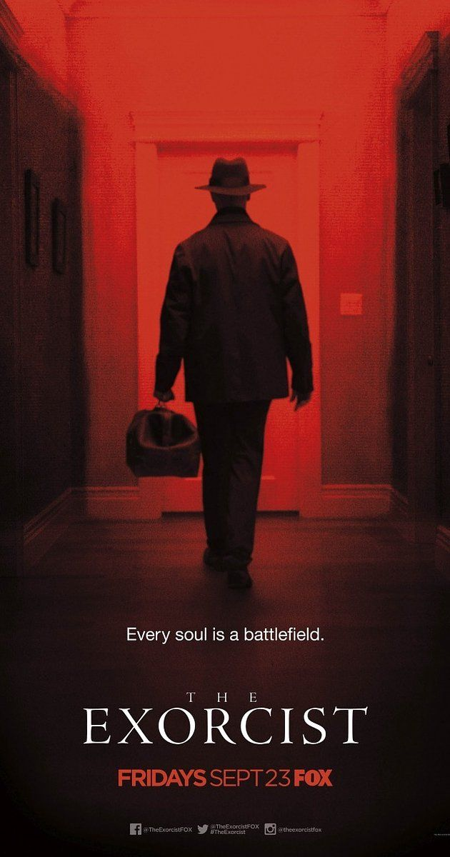 Created by Jeremy Slater.  With Alfonso Herrera, Ben Daniels, Hannah Kasulka, Brianne Howey. Two priests must save a family who are being terrorized by a demonic presence in their home.