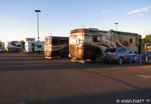 FREE OVERNIGHT PARKING FOR RVING BUT THERE ARE RULES