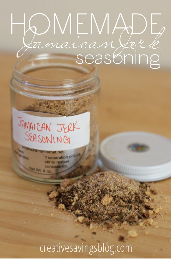 Forget expensive seasoning blends and experiment with your own, starting with this simple homemade Jamaican Jerk Seasoning recipe. It's not only incredibly delicious on pork and chicken, it's also super easy to put together. Plus, all the ingredients are probably in your pantry right now!