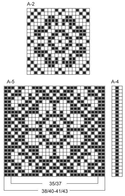 "Stickade DROPS sockor i ""Fabel"" med mönster. Stl 35 - 43. ~ DROPS Design"