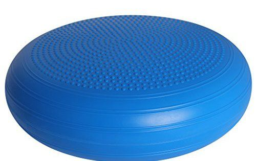 Coussin d'équilibre professionnel sans PVC, 50 cm de diamètre / Coussin à air – Coussin d'assise – Balance Pad: FONCTION - L'utilisation du…