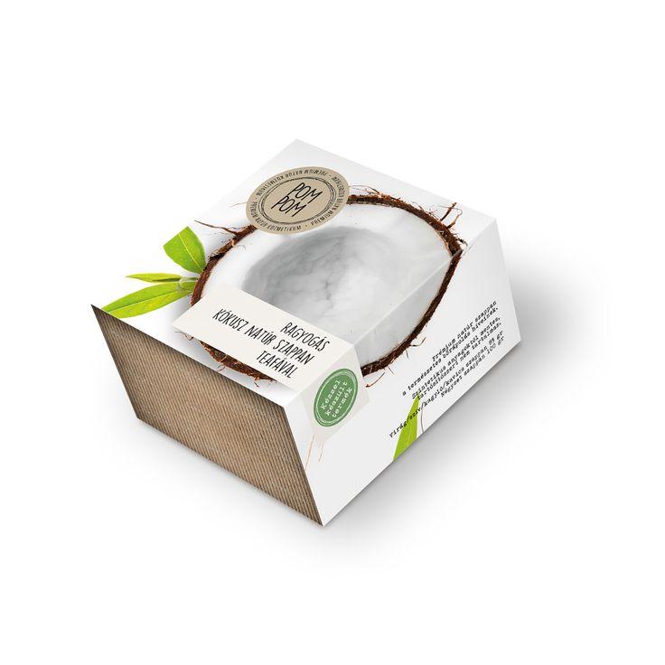 Ragyogás kókusz natúr szappan teafával * Coconut natural soap with teatree