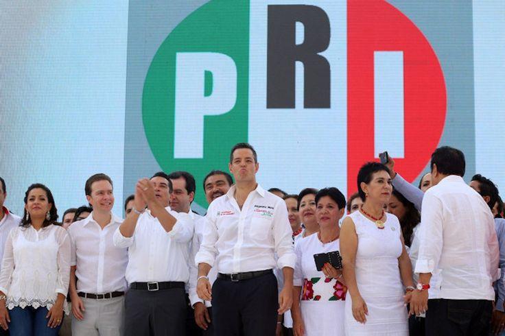 Secretario del PRI justifica sueldazo del candidato Murat Hinojosa