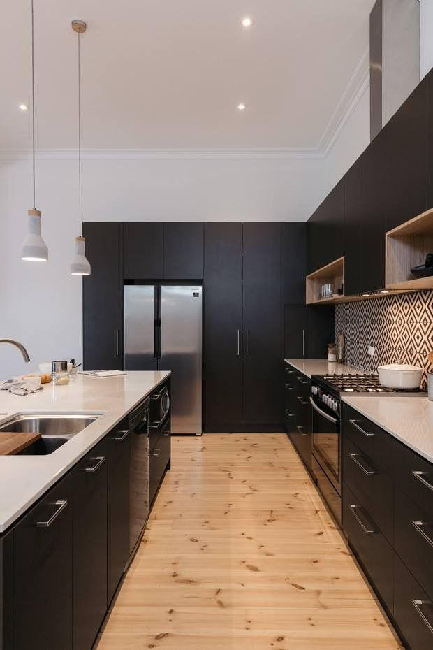 Cocina micro and oven placement | Kitchen | Pinterest | Kitchens and ...