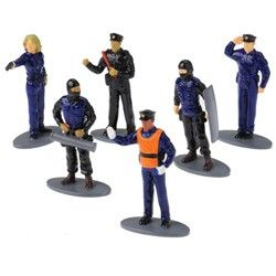Police Party Supplies, Police Figurines, Police Figures, Toys