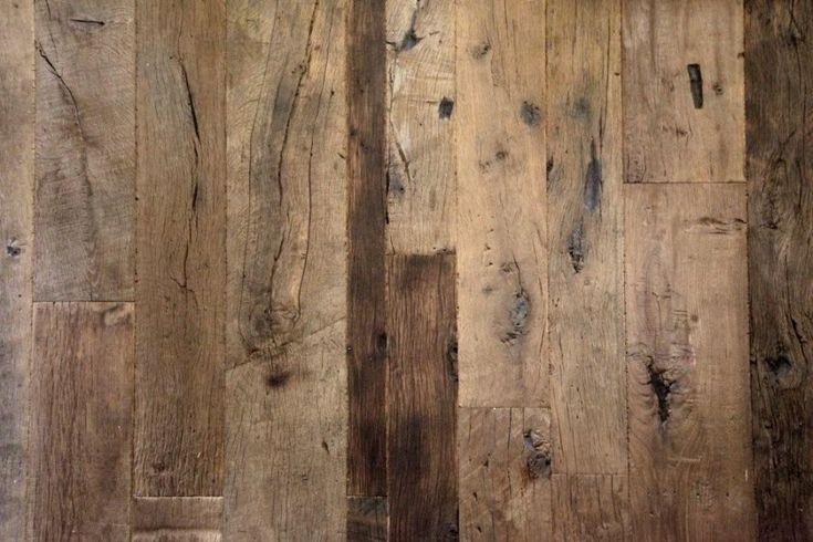 Vloeren uit hergebruikt sloophout