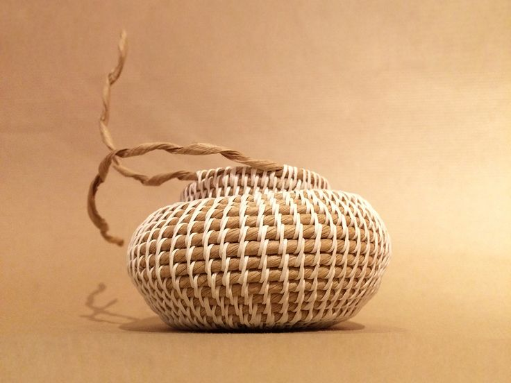 Paper Basket Weaving Supplies : Best images about weaving knotting twisting on